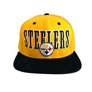 Pittsburgh Steelers Yellow New Era SnapBack Hat